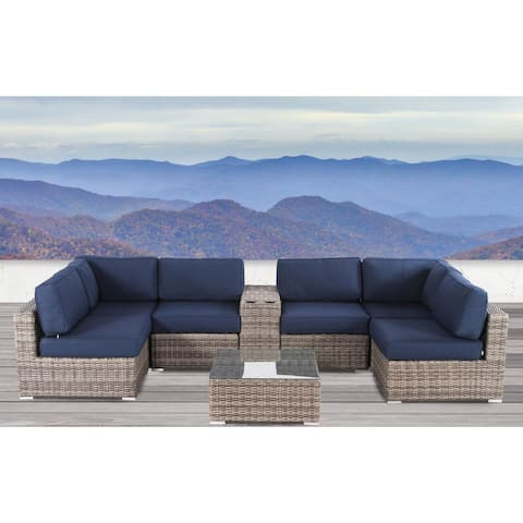 Antibes 8 Piece Cup Holder Sectional