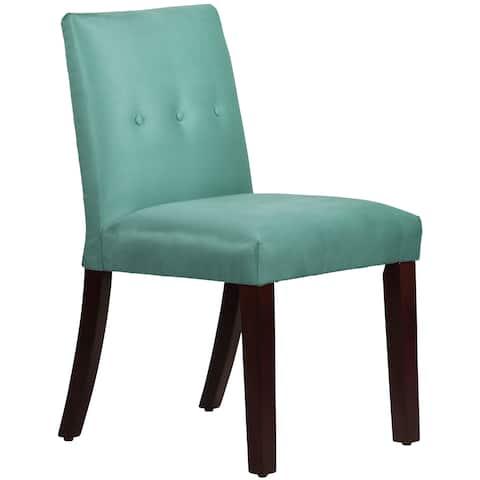 Carson Carrington Egilsstadir Tapered Dining Chair with Buttons - N/A