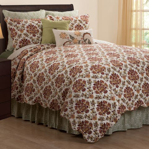 Addison Rustic Cotton Quilt Set