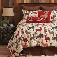 Nash Rustic Cotton Quilt Set
