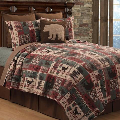 Ranger Ridge Rustic Cotton Quilt Set