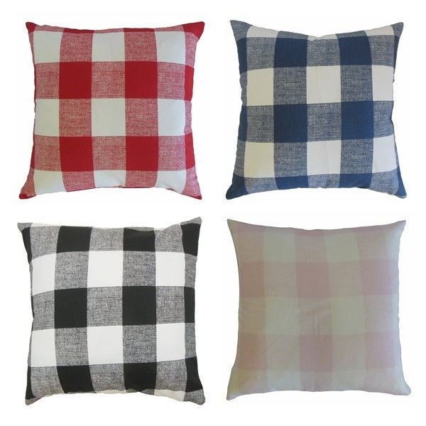 Bentley Plaid Throw Pillow. Opens flyout.