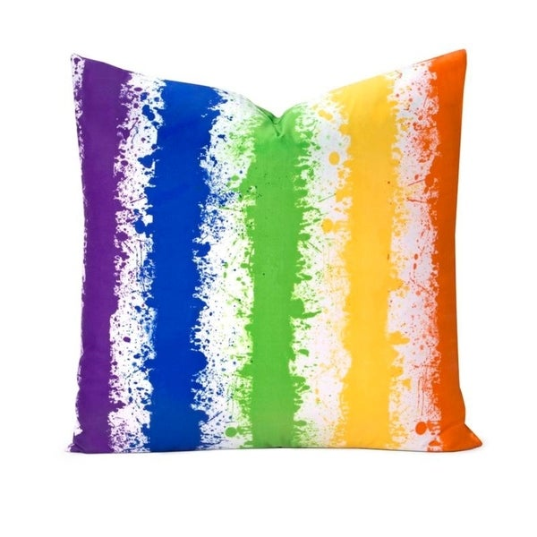 Learning Linens Brain Waves Throw Pillow