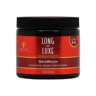 As I Am Long & Luxe GroWash 16-ounce Cleansing Crème Conditioner