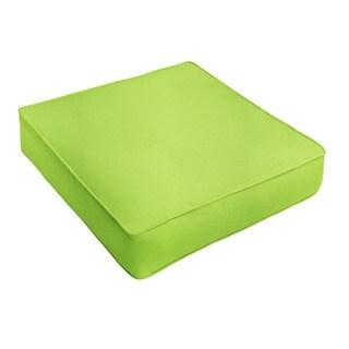 Sunbrella Macaw Green Indoor/ Outdoor Deep Seating Cushion by Humble + Haute