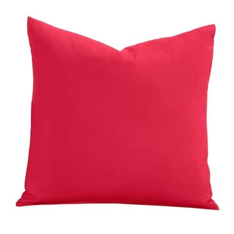 Learning Linens Solid Microfiber Accent Pillow