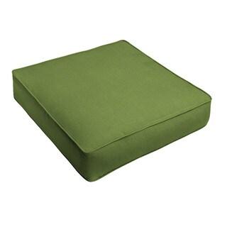 Sunbrella Cilantro Green Indoor/ Outdoor Deep Seating Cushion by Humble + Haute