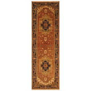 Handmade Serapi Wool Runner (India) - 2'7 x 8'1