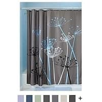 Shower Curtain, 100% polyester, Standard - Gray and Blue