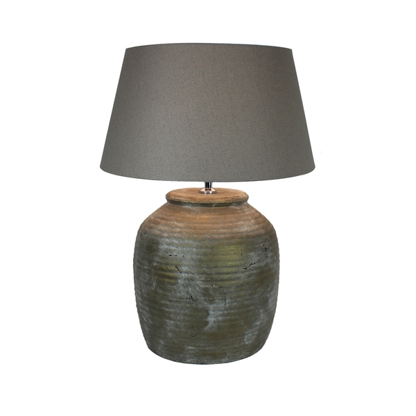 Urban Designs 22-Inch Antique Copper Ceramic Table Lamp
