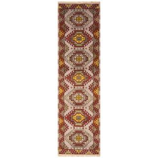 Handmade Kazak Wool Runner (India) - 2'8 x 9'9