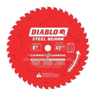 Diablo 8 in. Dia. 42 teeth Steel Metal Saw Blade For Ferrous Metals
