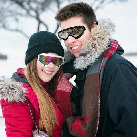 Lightweight Dustproof Snow Goggles
