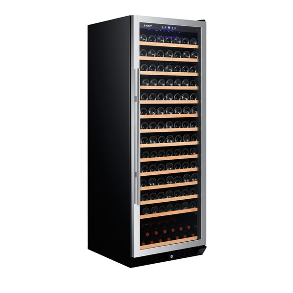 Smith Hanks 183 Bottle Wine Cooler Single Zone Stainless Steel