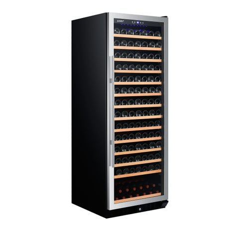 Smith & Hanks 183 Bottle Wine Cooler, Single Zone, Stainless Steel