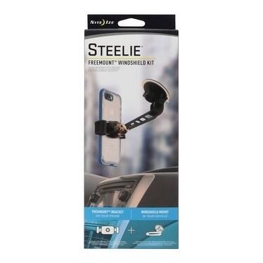 Nite Ize Steelie Freemount Black Universal Windshield Cell Phone Mount