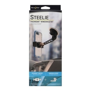 Nite Ize Steelie Freemount Black Universal Windshield Cell Phone Mount