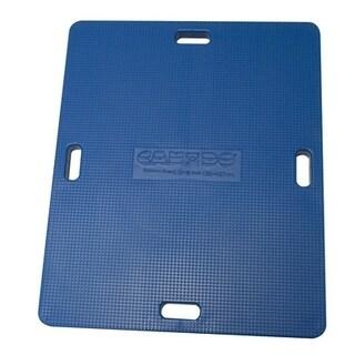 """CanDo® Balance Board Combo 15"""" x 18"""" Wobble/Rocker Board - 1"""" Height - Yellow"""