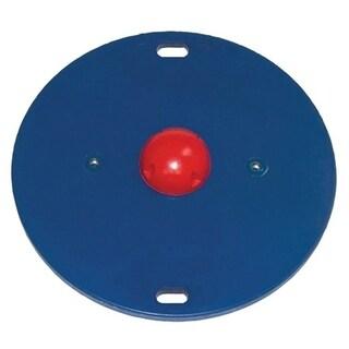 """CanDo® Balance Board Combo 16"""" Circular Wobble/Rocker Board - 1.5"""" Height - Red"""
