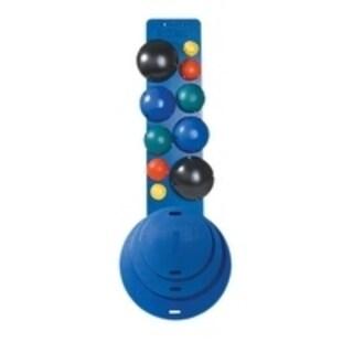 CanDo® MVP® Balance System - 10-Ball Set (2 each: yellow, red, green, blue, black), No Rack