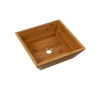 Maykke Coventry Bamboo Vessel Sink