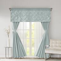 510 Design Tatiana Faux Silk 7-piece Window Curtain Set