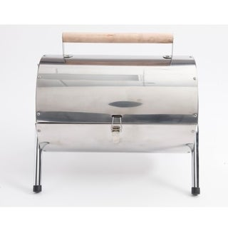 Sunbeam Portable Charcoal Bbq Grill Stainless Steel