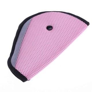 Karma Baby Triangle Kids Automobile Seat Belt - Pink