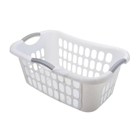 Hip Hugger Laundry Basket, 2 Pack