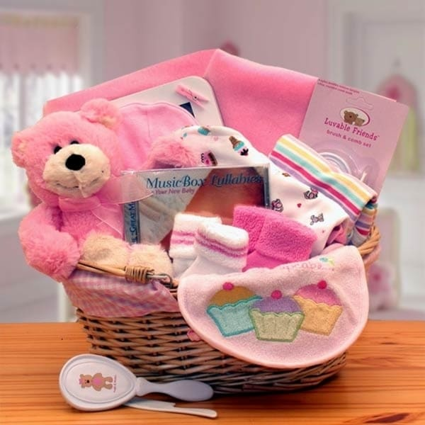 Shop Simply the Baby Basics New Baby Gift Basket - Free Shipping Today - Overstock - 20167424