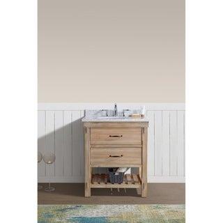 "Marina 30"" Bathroom Vanity Driftwood Finish"