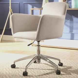 Decorative Design Beige Adjustable Swivel Office Chair