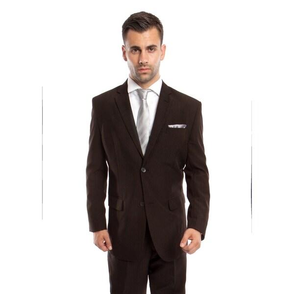 Mens Suit Set 2 Piece Formal Set Notch Lapel Casual Suit Set