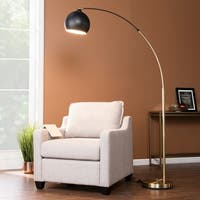 Harper Blvd Rockmore Black Arc Floor Lamp
