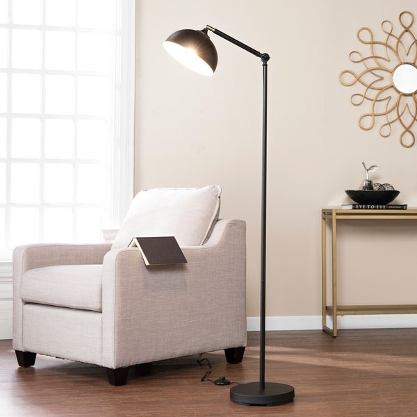 Harper Blvd Hayleford Black Floor Lamp