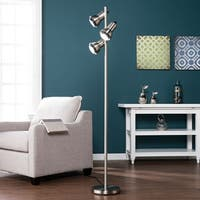 Harper Blvd Galina Brushed Nickel Metal Floor Lamp