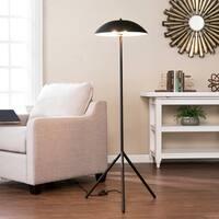 Harper Blvd Lorino Matte Black 2-Light Floor Lamp
