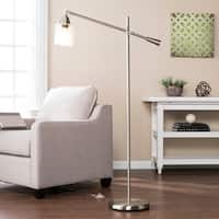 Harper Blvd Twyla Brushed Nickel Floor Lamp