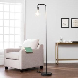 Pine Canopy Aniakchak Matte Black Floor Lamp - Thumbnail 0
