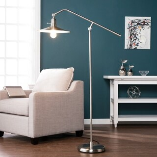 Harper Blvd Victor Brushed Nickel Floor Lamp