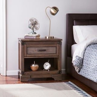 Carbon Loft Ostwald Antiqued Whiskey Maple Single-drawer Nightstand