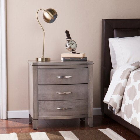 Harper Blvd Dalston Driftwood Gray 2-Drawer Nightstand