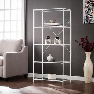 Harper Blvd Penrose White 5-Tier Bookshelf
