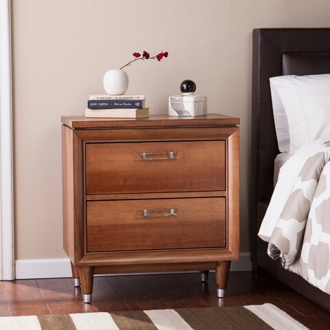 Harper Blvd Delmon Honey Pine 2-Drawer Nightstand