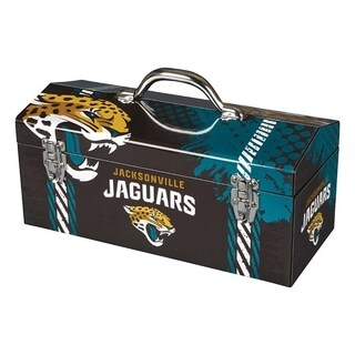 Sainty International Jacksonville Jaguars 16.3 in. Tool Box Steel