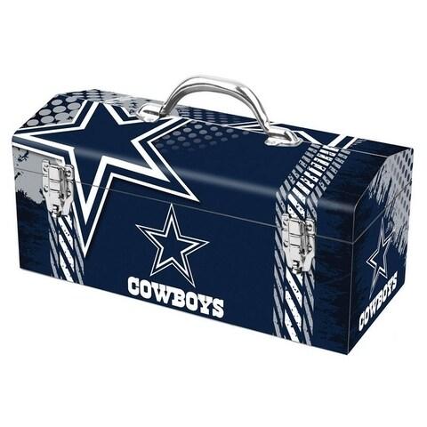 Sainty International Dallas Cowboys 16.3 in. Tool Box Steel