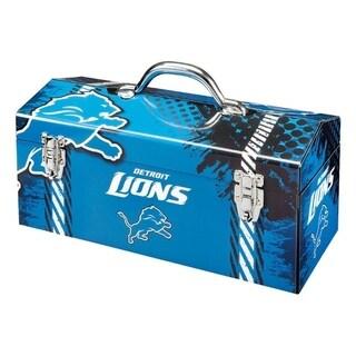 Sainty International Detroit Lions 16.3 in. Tool Box Steel