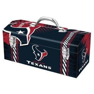 Sainty International Houston Texans 16.3 in. NFL Tool Box Steel