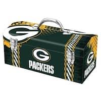 Sainty International  Green Bay Packers  16.3 in. NFL  Tool Box  Steel