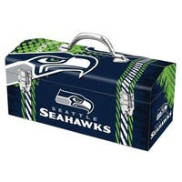 Sainty International  Seattle Seahawks  16.3 in. Tool Box  Steel